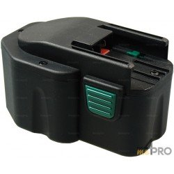 Batterie de rechange Ni-mH pour AEG et Milwauke