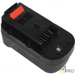 Batterie de rechange Ni-Cd pour Black & Decker