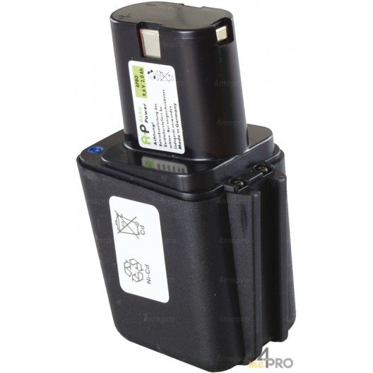 Batterie Ni-Cd 9,6 V 1,5 A de rechange pour Berner, Bosch et Wurth