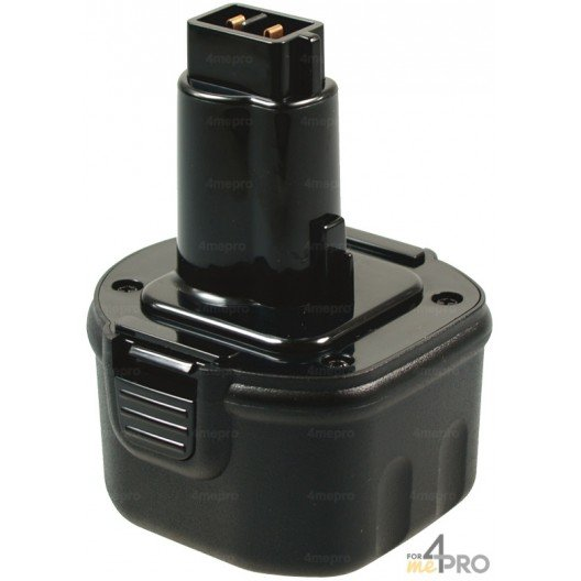Batterie Ni-Cd 9,6 V 2A de rechange pour Berner, Dewalt et Wurth