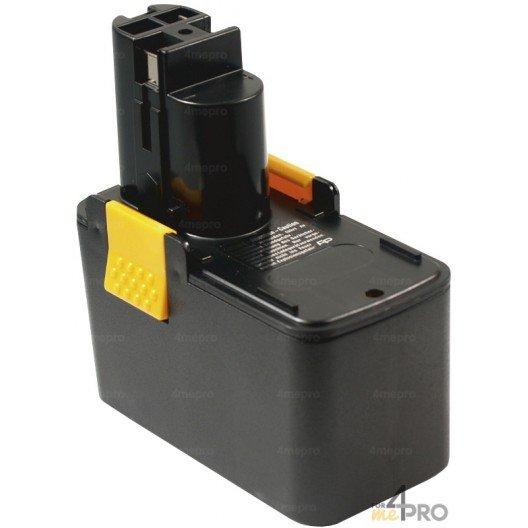 Batterie Ni-Cd 12 V 2 A de rechange pour Berner, Bosch et Wurth