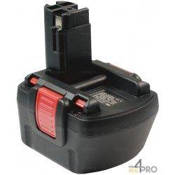 Batterie Ni-mH 12 V 3 A de rechange pour Berner et Bosch