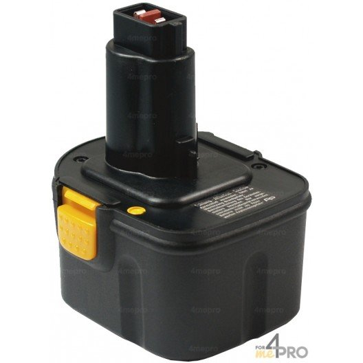 Batterie Ni-Cd 12 V 1,5 A de rechange pour Berner, Dewalt et Wurth
