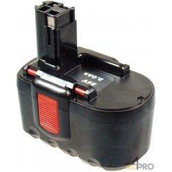 Batterie Ni-Cd 24 V 2 A de rechange pour Berner et Bosch