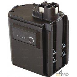 Batterie Ni-Cd 24 V 12 A de rechange pour Berner, Bosch, Spit et Wurth