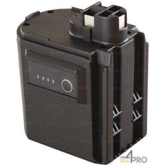 Batterie Ni-mH 24 V 3 A de rechange pour Berner, Bosch, Spit et Wurth
