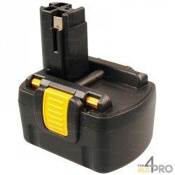 Batterie Ni-mH 14,4 V 2,6 A de rechange pour Bosch, Spit et Wurth