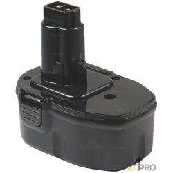 Batterie Ni-Cd 14,4 V 2 A de rechange pour Dewalt