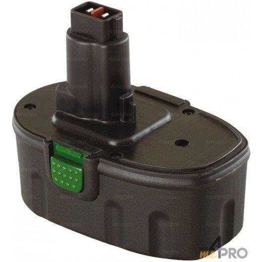 Batterie Ni-mH 18 V 2,6 A de rechange pour Dewalt et Wurth