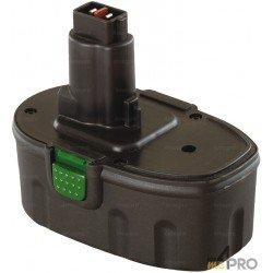 Batterie Ni-mH 18 V 3 A de rechange pour Dewalt et Wurth