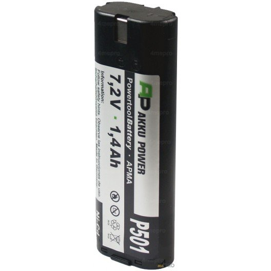 Batterie Ni-Cd 7,2 V 1,5 A de rechange pour Facom, Makita, Stanley et Wurth