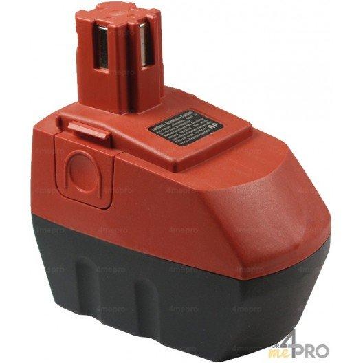 Batterie Ni-mH 15,6V 3,0 Ah de rechange pour Hilti