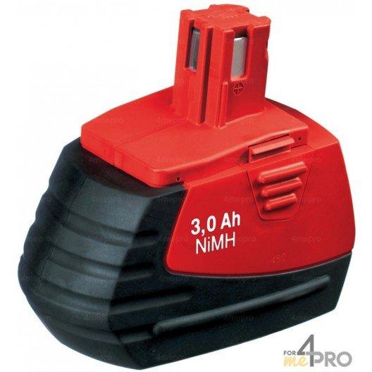 Batterie Ni-mH 18V 3,0 Ah de rechange pour Hilti