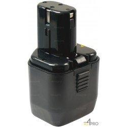Batterie Ni-mH 12V 3,0 Ah de rechange pour Hitachi et Wurth