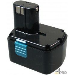 Batterie Ni-Cd 14,4V 2,4 Ah de rechange pour Hitachi