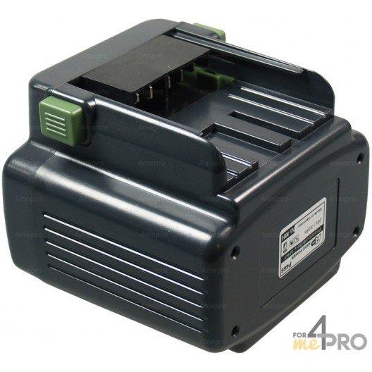 Batterie Ni-mH 24V 3,0 Ah de rechange pour Hitachi