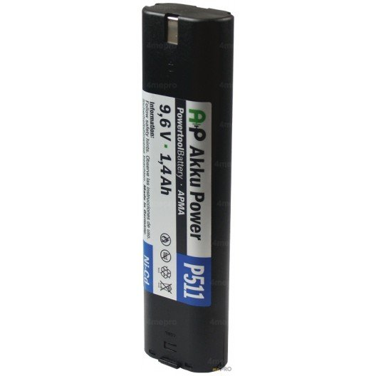 Batterie Ni-Cd 9,6V 1,5 Ah de rechange pour Makita et Wurth