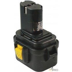 Batterie Ni-Cd 9,6V 1,5 Ah pour outils sans clip métallique Makita et Wurth