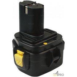 Batterie Ni-Cd 12V 1,5 Ah de rechange pour Makita et Wurth