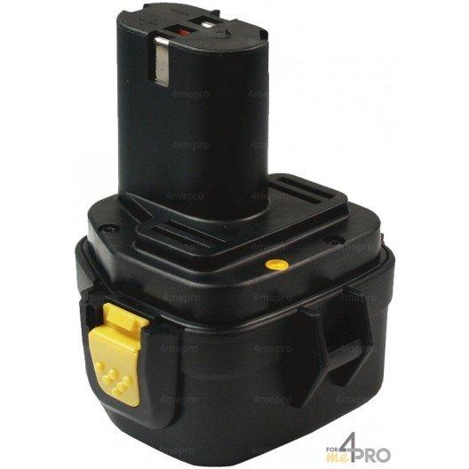 Batterie Ni-mH 12V 2,6 Ah de rechange pour Makita et Wurth