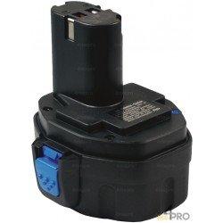 Batterie Ni-mH 14,4V 2,6 Ah de rechange pour Makita et Virax