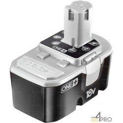 Batterie Ni-Cd 18 V de rechange pour Ryobi