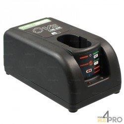 Chargeur universel pour batteries Ni-Cd + Ni-MH 7,2V - 18V 3,0 Ah