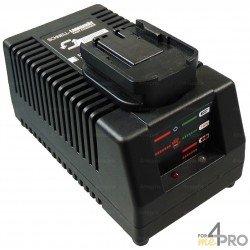 Chargeur pour batteries AEG et MILWAUKEE
