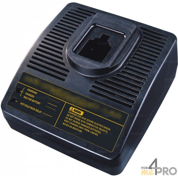 chargeur pour batteries black decker ni cd ni mh 7 2v 18v 1 5 ah. Black Bedroom Furniture Sets. Home Design Ideas