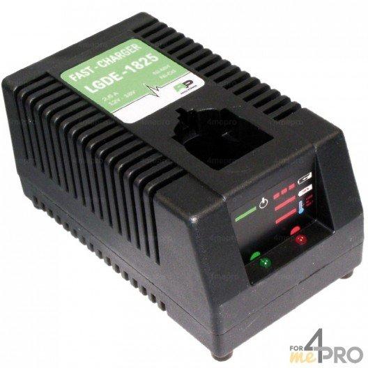 Chargeur pour batteries BERNER, DEWALT et WURTH