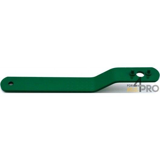 Clé de serrage pour meuleuses verte