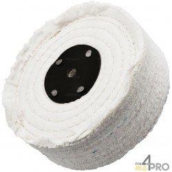 Disque toile en coton écru 200x50 mm