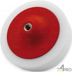 Eponge blanche de polissage M14x200