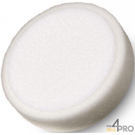 Eponge blanche de polissage 150x50 mm