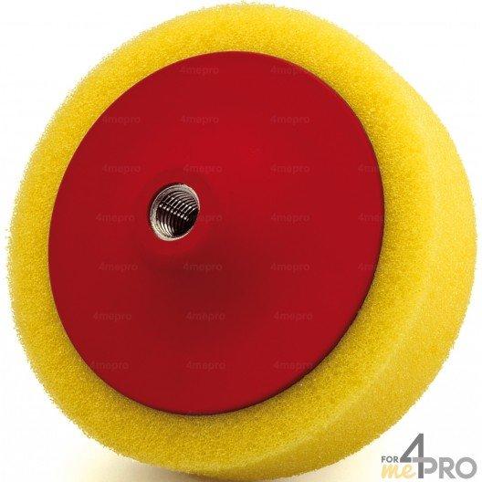 Eponge jaune de polissage M14x200