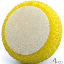 Eponge jaune de polissage 150x50 mm