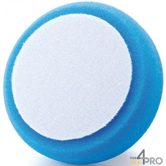 Eponge bleue de polissage avec fixation velcro