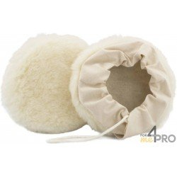 Bonnet en laine tissée avec fixation à lacets 125 mm