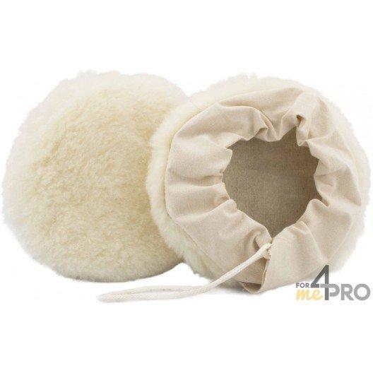 Bonnet en laine tissée avec fixation à lacets 150 mm