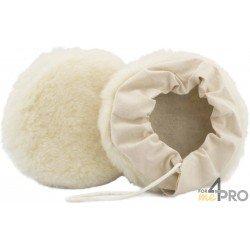 Bonnet en laine tissée avec fixation à lacets 180 mm