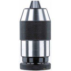 Mandrin auto-serrant pour perceuses fixes et machines-outils DIN B18 - capacité 3 à 16 mm