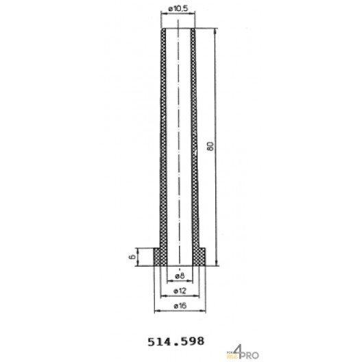 Protecteurs en PVC souple 80 mm