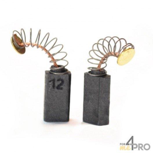 Balai charbon pour outils BOSCH 5 x 8 x 15,5 mm