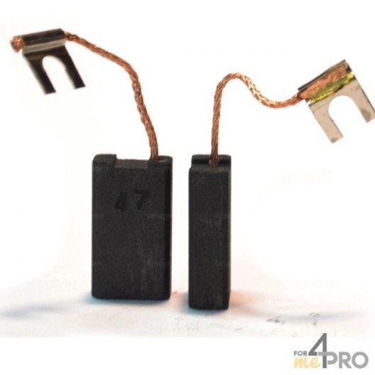 Balai charbon pour outils BOSCH 6,4 x 12,5 x 22 mm