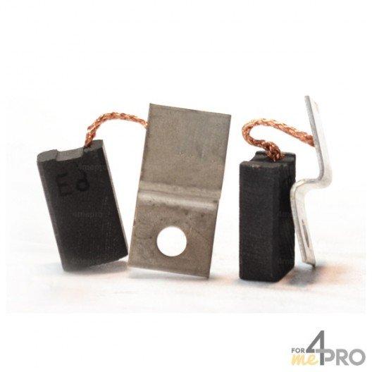 Balai charbon pour marteaux BOSCH/SPIT 6,3 x 10 x 17 mm