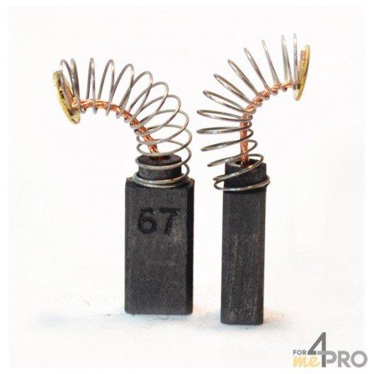 Balai charbon pour marteaux et meuleuses BOSCH/SPIT 5 x 8 x 15 mm