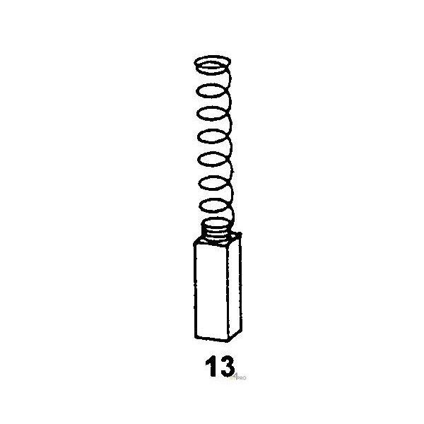 réparation ETS 125 Q 1041 Ets 150//3eq Charbon Balais Pour FESTOOL il 150//3eq